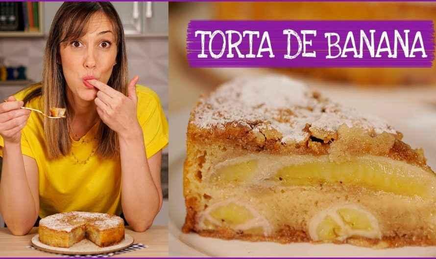TORTA DE BANANA fácil, rápida e deliciosa I Receitas e Temperos