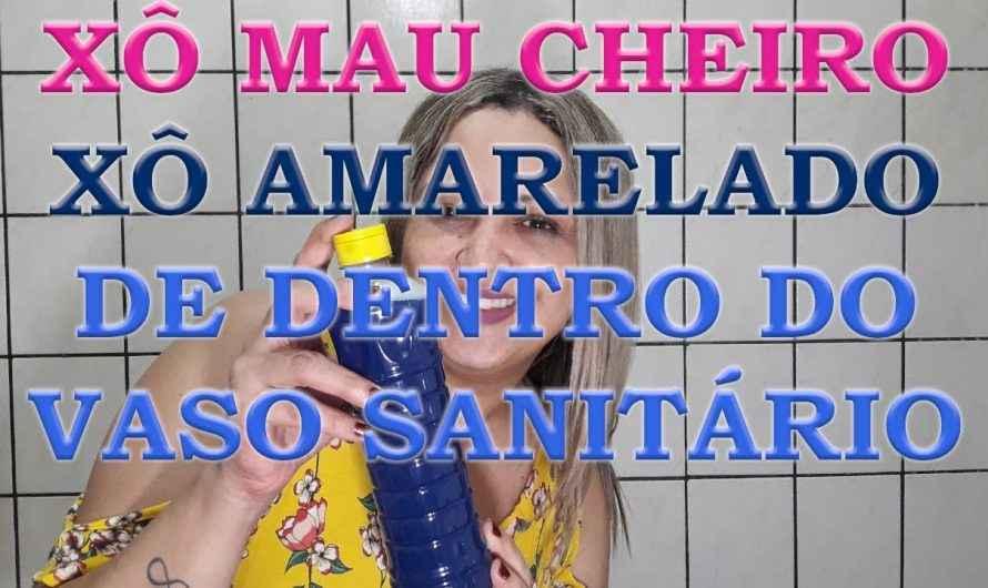 LIMPA VASO SANITÁRIO/ TIRA AMARELADO/ TIRA CHEIRO RUIM