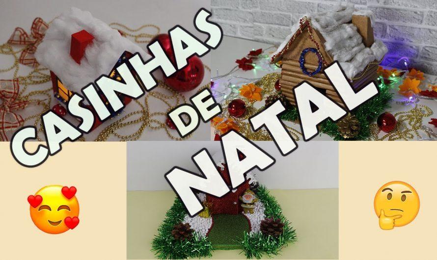 3 IDEIAS INCRÍVEIS DE CASINHA DE NATAL
