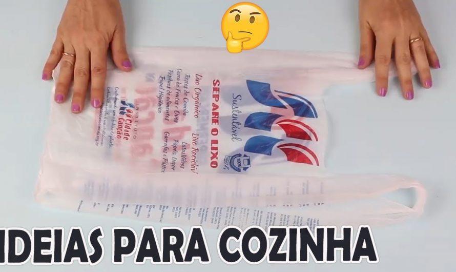 2 IDEIAS PARA COZINHA COM SACOLAS DE SUPERMERCADO