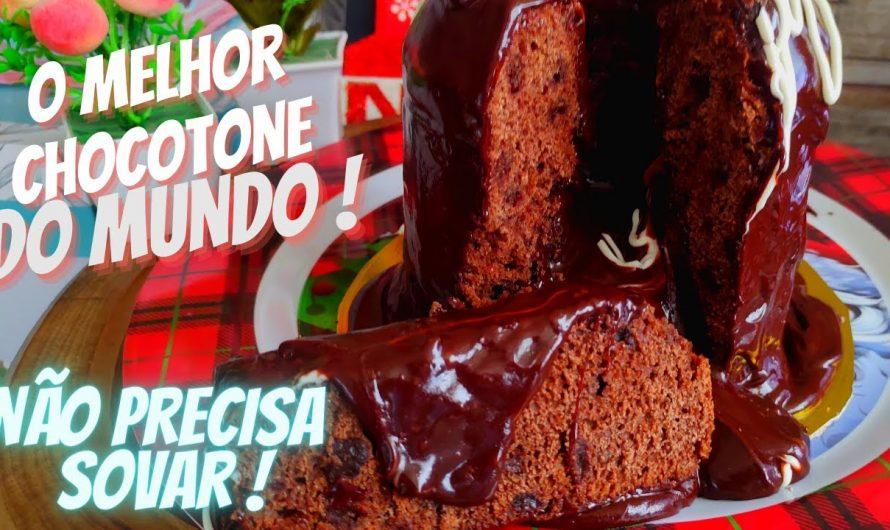 CHOCOTONE TRUFADO DE LIQUIDIFICADOR – NÃO PRECISA SOVAR !!