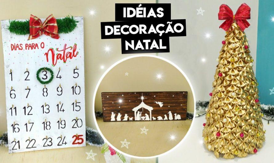 DIY DECORAÇÃO DE NATAL 2020 – DIY NATAL