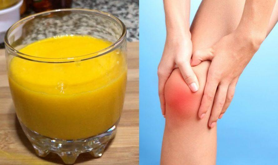 Suco para dores no joelho | inflamação | Artrites | articulações e cartilagens