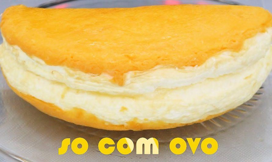 SÓ USEI OVOS PARA FAZER ESSA RECEITA – APENAS 1  INGREDIENTES ️- Receita de omelete / ovo 🥚