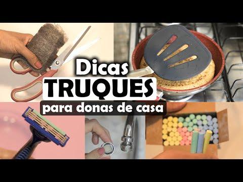 TRUQUES E DICAS QUE TODA (O) DONA (O) DE CASA PRECISA SABER!