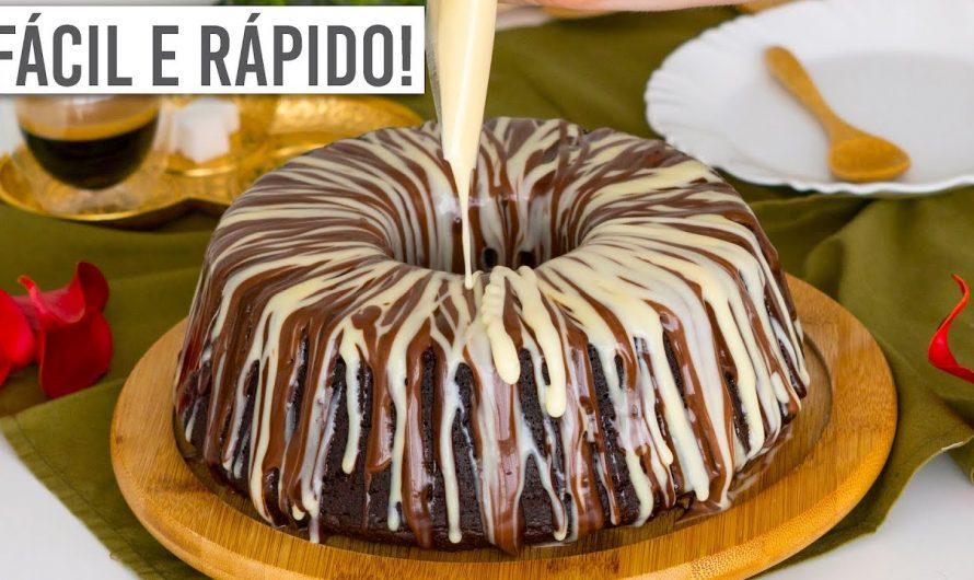 BOLO DE LIQUIDIFICADOR: 3 CHOCOLATES (Fofinho! Receita Simples!) – Cozinha do Bom Gosto – Gabi Rossi