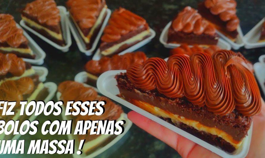FIZ TODOS ESSES BOLOS COM APENAS UMA MASSA !