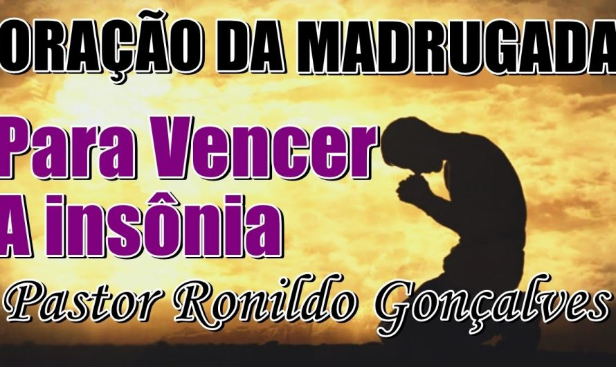 ORAÇÃO DA MADRUGADA | Com os Salmos poderosos Para vencer a Insônia