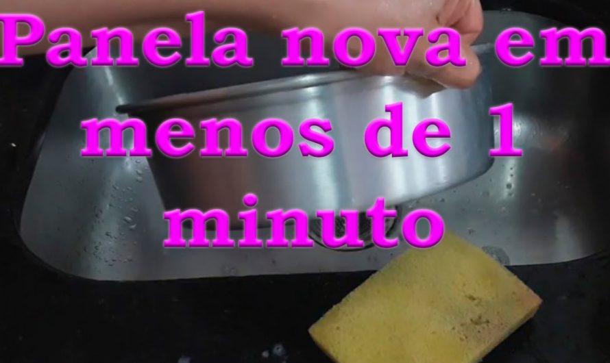 TENHA PANELAS NOVAS EM MENOS DE 1 MINUTO COM ESSA SUPER MISTURINHA