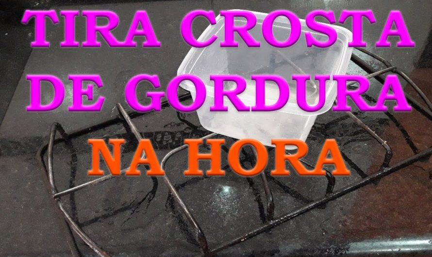 TIRA CROSTA DE GORDURA DA GRADE DO FOGÃO NA HORA